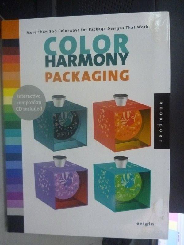 【書寶二手書T2/設計_XFX】Color Harmony: Packaging: More