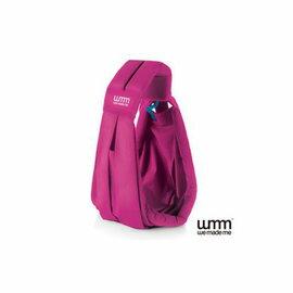 【淘氣寶寶】英國WMMSoohu五式親密揹巾揹帶背巾-輕盈款(桃紅色)