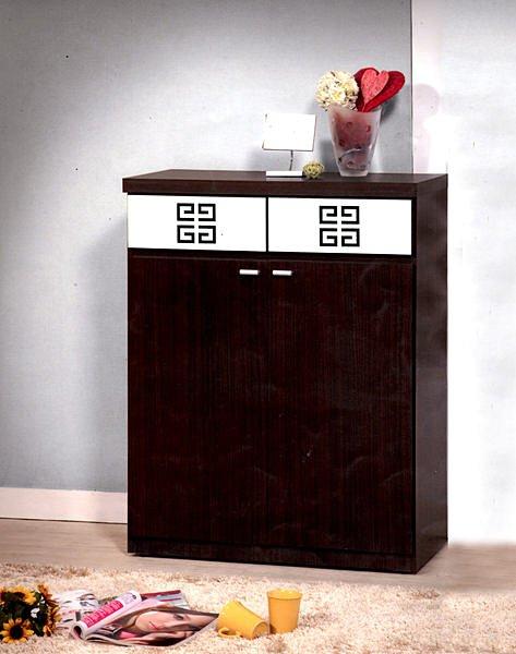 【尚品家具】630-05 胡桃2.7 尺 玄關收納櫃櫥櫃鞋櫃 《台中多區免運》