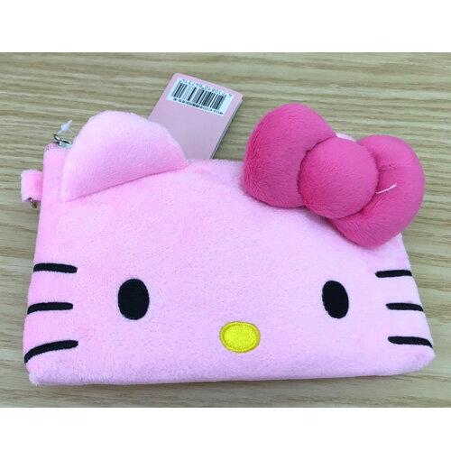 【真愛日本】17062900019 手機觸控背包-粉 三麗鷗 kitty 凱蒂貓 手機收納包 化妝包 收納袋 3C