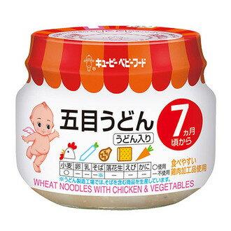 日本 KEWPIE ????? 丘比 野菜雞肉烏龍麵泥 7M+ 即食 副食品 離乳食