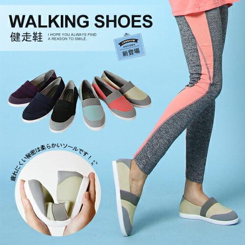 BONJOUR高機能萊卡健走鞋☆彈力透氣休閒鞋 walking shoes | C.【ZB0259】6色