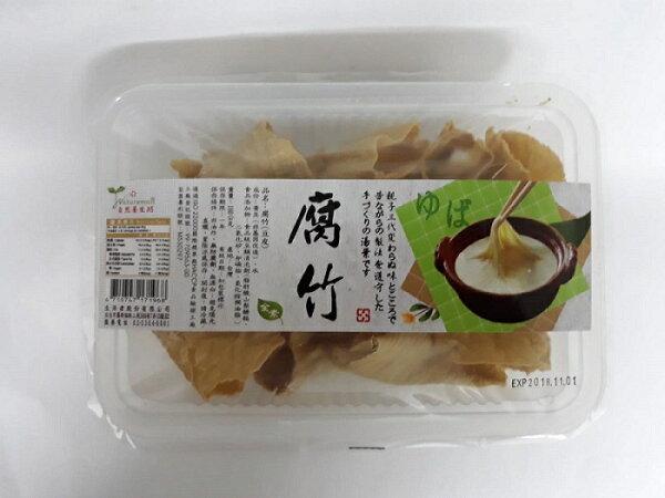 鏡感樂活市集:自然養生坊腐竹(豆皮)160g盒非基因改造