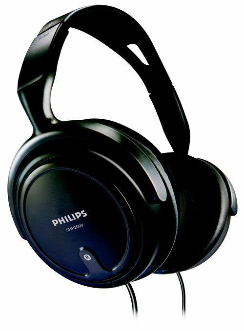 【迪特軍3C】PHILIPS 飛利浦 SHP2000 HIFI 立體聲 耳罩式耳機