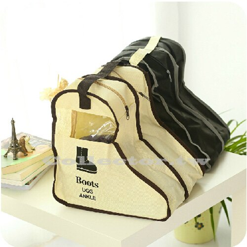 【G15112602】韓版-短靴/雪靴收納袋 防塵袋 靴袋 鞋袋 鞋罩(另有長靴款)