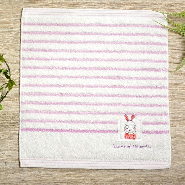 日本今治 - KONTEX - Mag小毛巾(兔子)《日本設計製造》《全館免運費》
