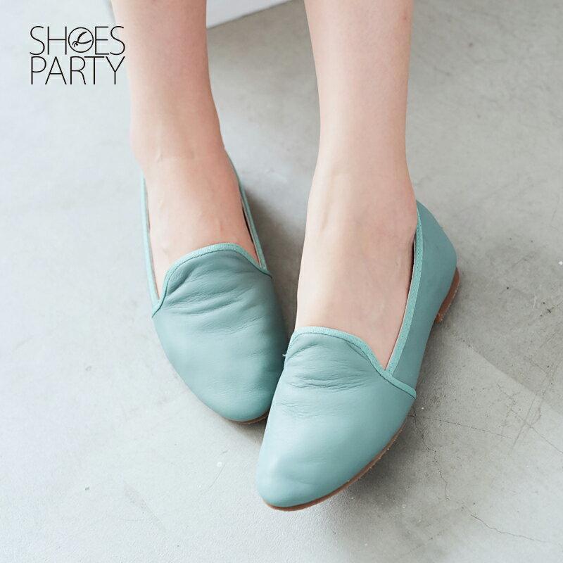 【 C2-17504L 】軟牛皮休閒歐貝拉_Shoes Party 3