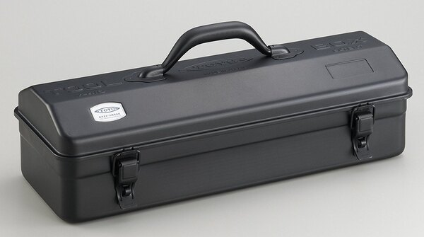 ├登山樂┤日本TOYOY-410提把山型工具箱42公分-黑#Y-410BK2