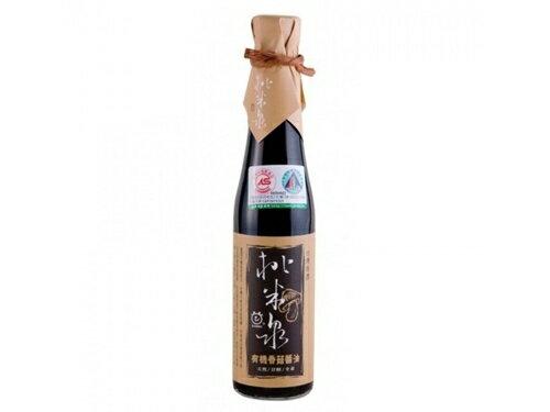 【桃米泉】有機香菇醬油410ml