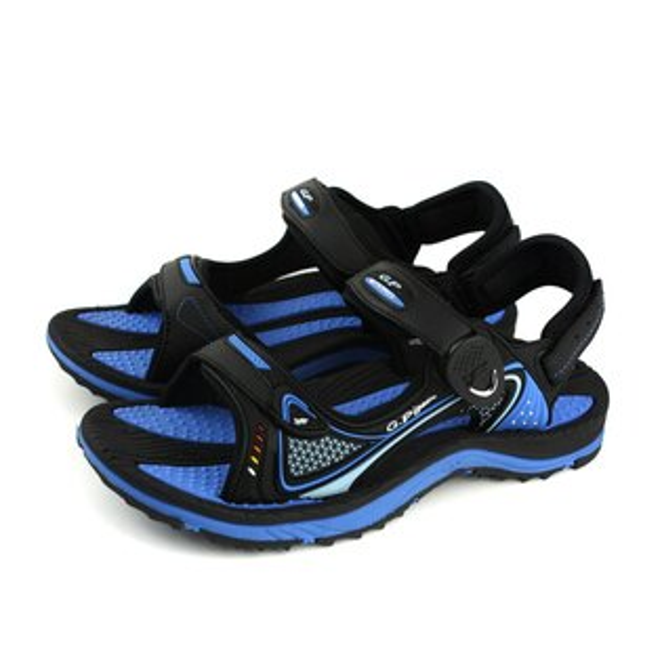 GP(Gold.Pigon)阿亮代言涼鞋防水雨天女鞋藍色G8655W-20no947