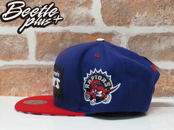 BEETLE PLUS MITCHELL&NESS X BAIT NBA 多倫多暴龍 紫紅 聯名 後扣帽 棒球帽 1