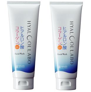 【明色】HYALCOLLABO超潤洗面乳兩件組