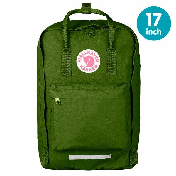 【鄉野情戶外專業】 Fjallraven |瑞典| 小狐狸 Kanken Laptop 17inch 方型書包 方型背包 電腦包 (葉綠) _27173