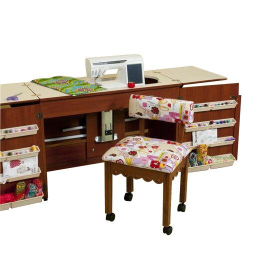UPC 40 Arrow Tables Bertha Sewing Table Cherry Amazing Bertha Sewing Machine Cabinet