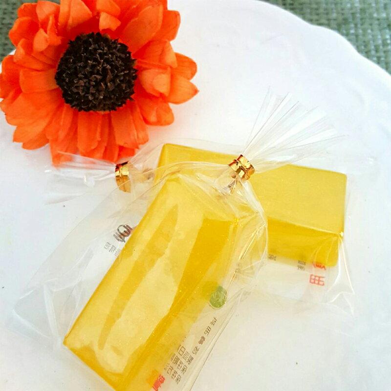 婚禮小物-小金條手工皂 (一入裝) 金光閃閃貴氣十足 /甜點皂/節日禮品【棠逸手作皂 】