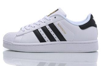 Adidas Originals Superstar 貝殼頭西瓜頭 白黑 情侶鞋
