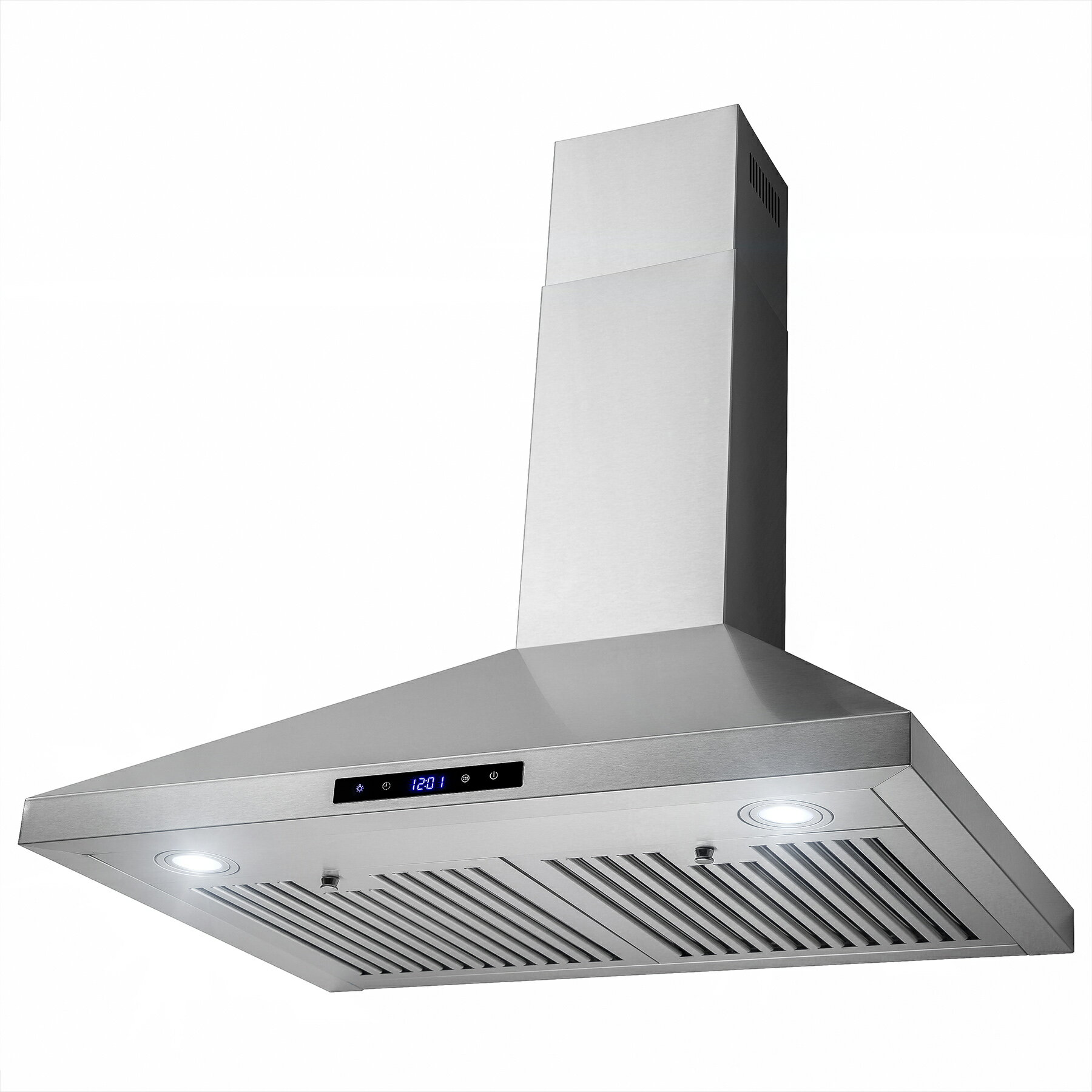 "AKDY 30"" Wall Mount Stainless Steel Touch Control Panel Kitchen Range Hood Cooking Vent 2"
