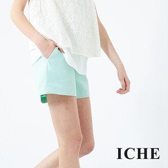 ICHE 衣哲 立體紋造型褲