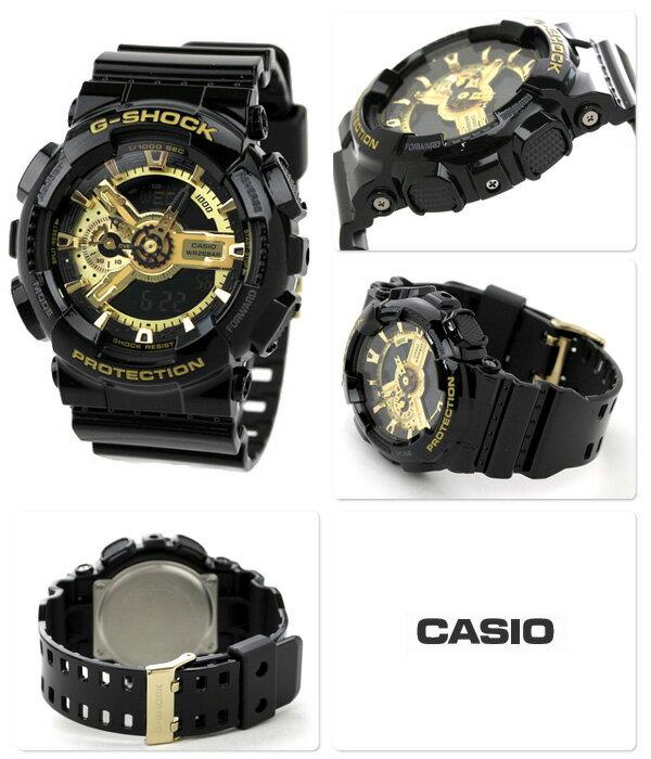 國外代購 CASIO G-SHOCK GA-110GB-1A 黑金霸魂 防水 手錶 腕錶 電子錶 男女錶 2