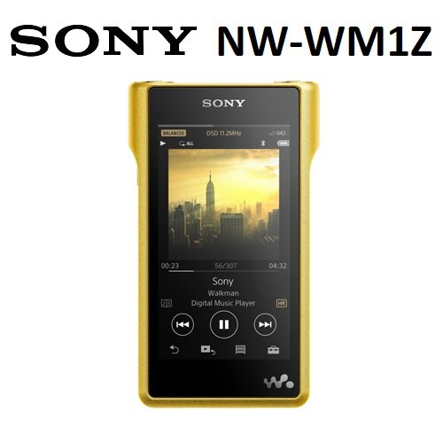 【免運費】SONY NW-WM1Z 頂級Walkman 音樂播放器-256G (公司貨)