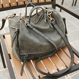 日本 古著托特包後背包 麂皮 斜背包公事包
