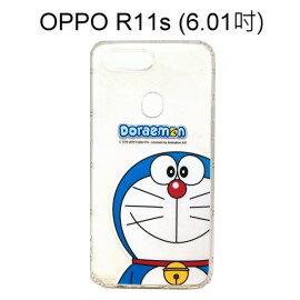 哆啦A夢空壓氣墊軟殼[大臉]OPPOR11s(6.01吋)小叮噹【正版授權】