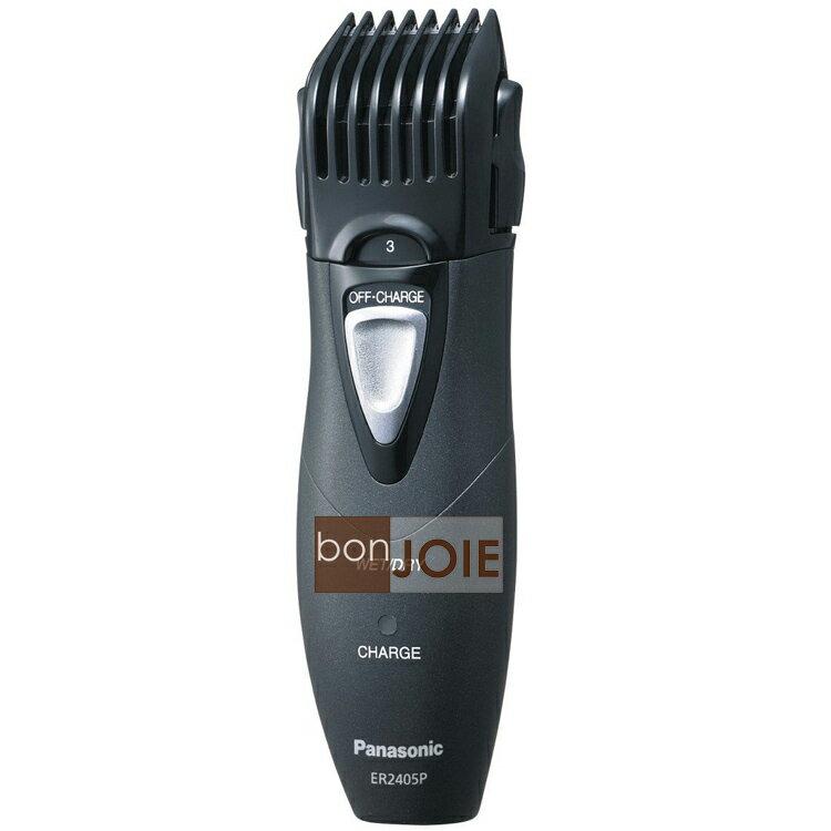 ::bonJOIE:: 日本進口 Panasonic ER2405P-K 充電式 電動剪髮器 (ER2403PP充電版) 松下 國際牌 ER2405 ER2405P 可水洗 修鬍 修鬢角 理髮器