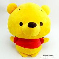 小熊維尼周邊商品推薦【UNIPRO】迪士尼 小熊維尼 Winnie the Pooh Q版 胖嘟嘟 絨毛玩偶 娃娃
