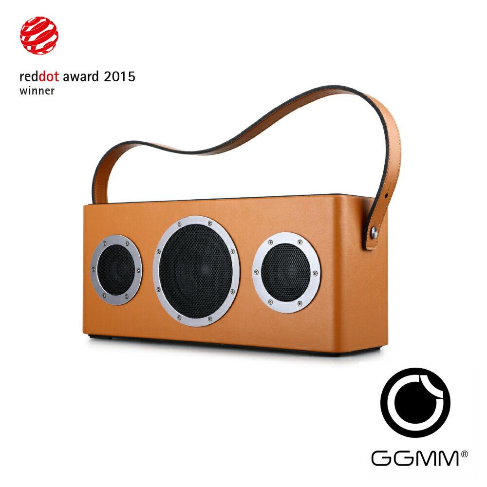 【迪特軍3C】GGMM M4 wifi&藍牙無線音箱 公司貨 古古美美 wifi&藍牙無線音箱 橘黃