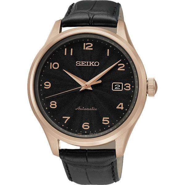 Seiko CS系列 4R35~00P0P SRP706J1 簡約紳士機械腕錶  黑面42