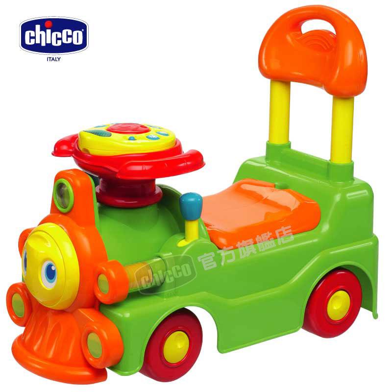 chicco二合一聲光訓練火車