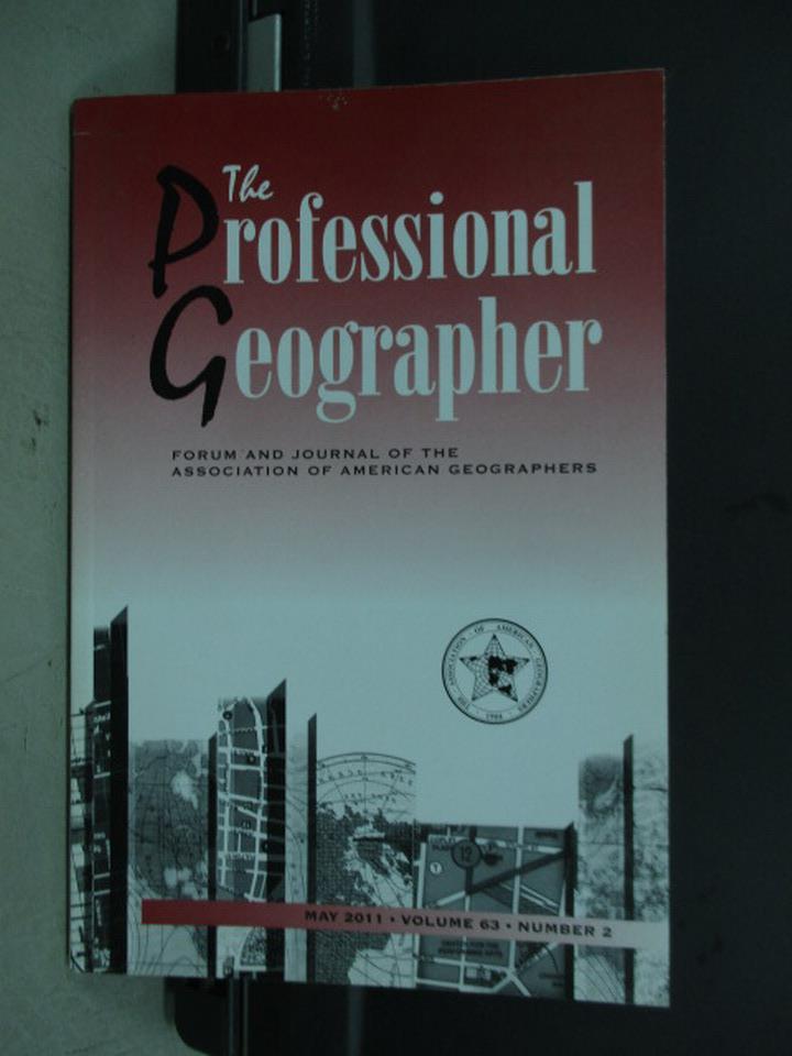 【書寶二手書T2/地理_PBH】The professional qeographer_2011/5