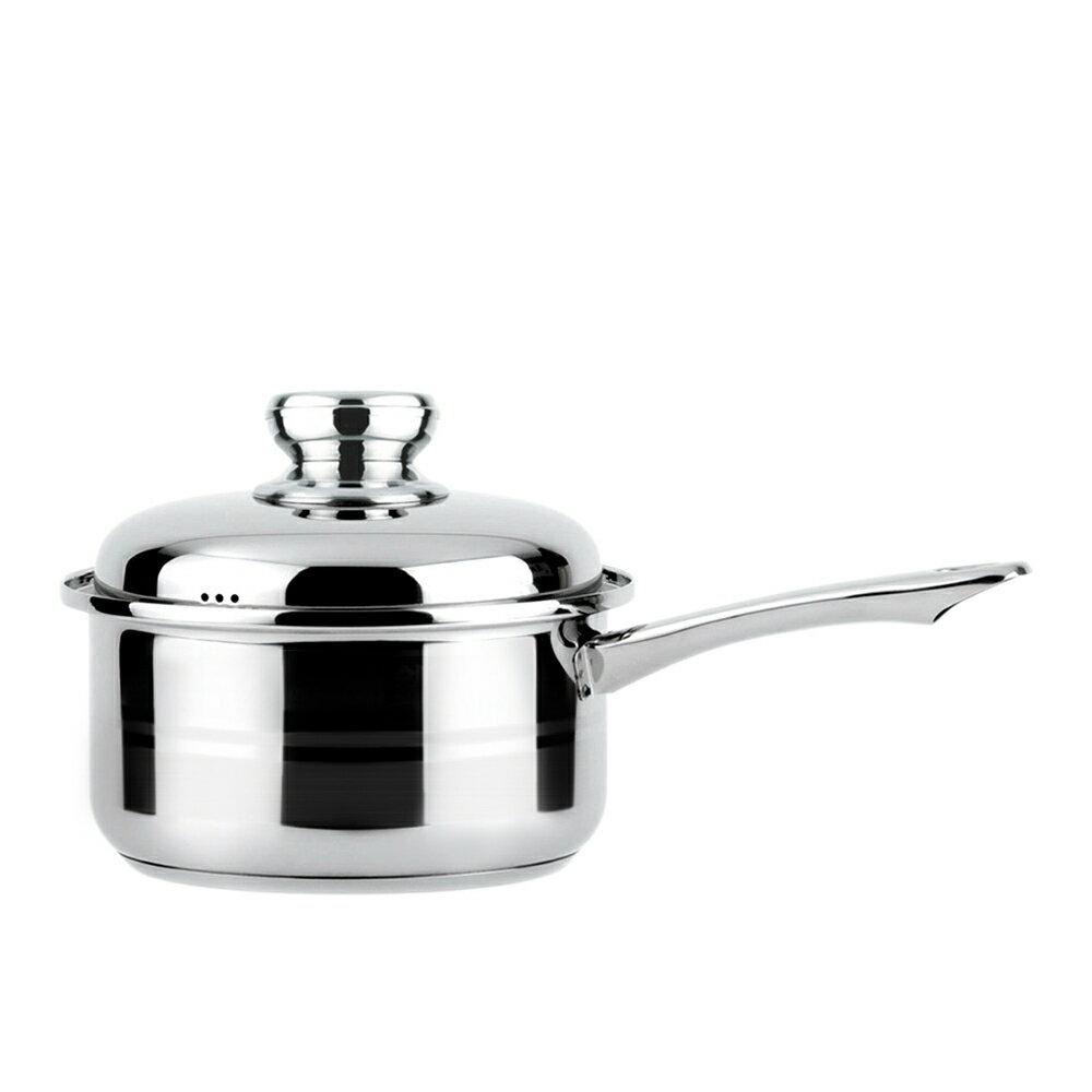 【潔豹】歐洲鍋  [單把] / 18H / 2.2L / 304不鏽鋼 / 湯鍋