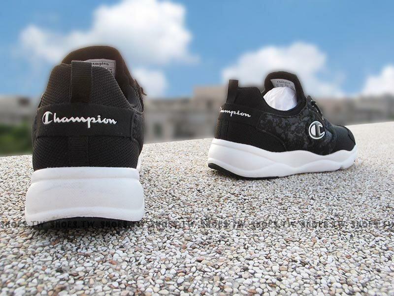 《限時特價799元》Shoestw【731210112】Champion C Ninja 忍者鞋 休閒鞋 襪套 免綁帶 黑色 男款 2