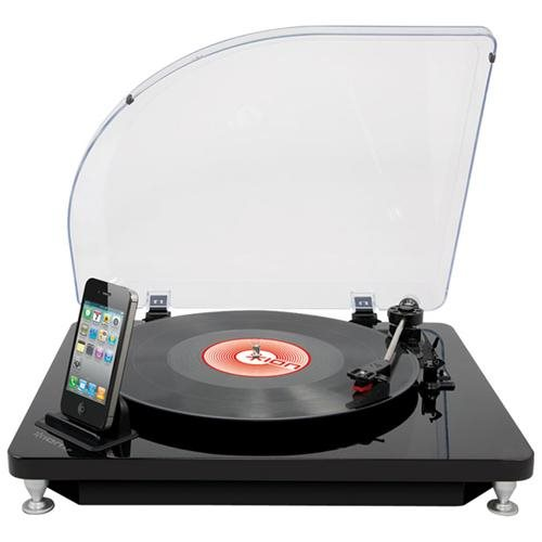 Ion Audio iLP Turntable Conversion System for iPad, iPhone & iPod touch - Audio Line Out - USB