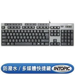 [富廉網] 【INTOPIC】USB多媒體鍵盤 KBD-USB-60