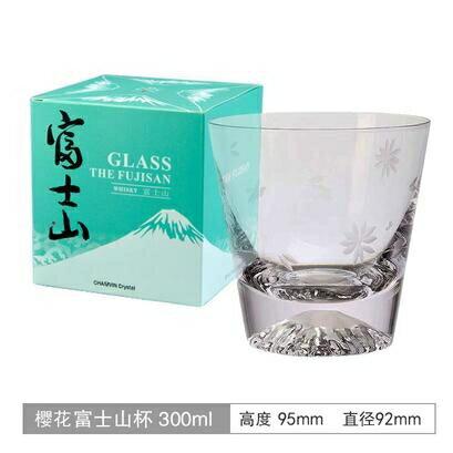 江戶硝子日本威士忌酒杯 水晶玻璃手作富士山杯冰山杯ins彩盒 小山好物