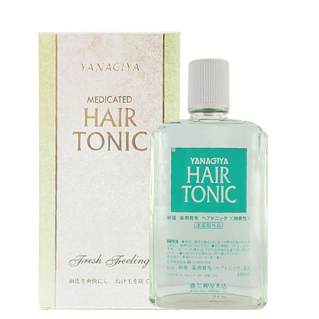 柳屋 雅娜蒂HAIR TONIC 髮根營養液  /  髮根精華液 /  髮根精華液(增強版)  /  強髮液 240ml 4