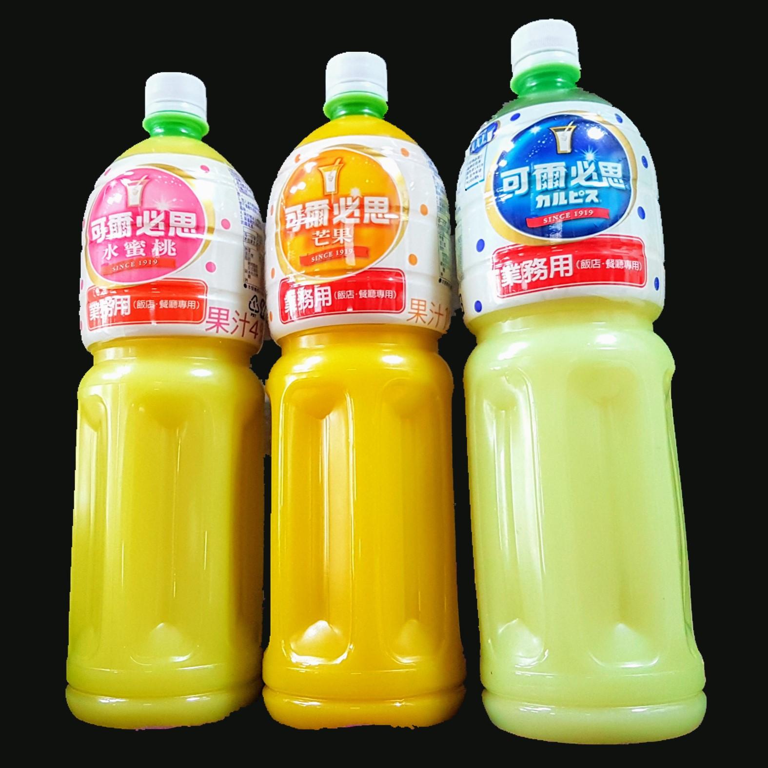 可爾必思CALPIS業務用濃縮乳酸飲品【睿選好味】1500ml/罐