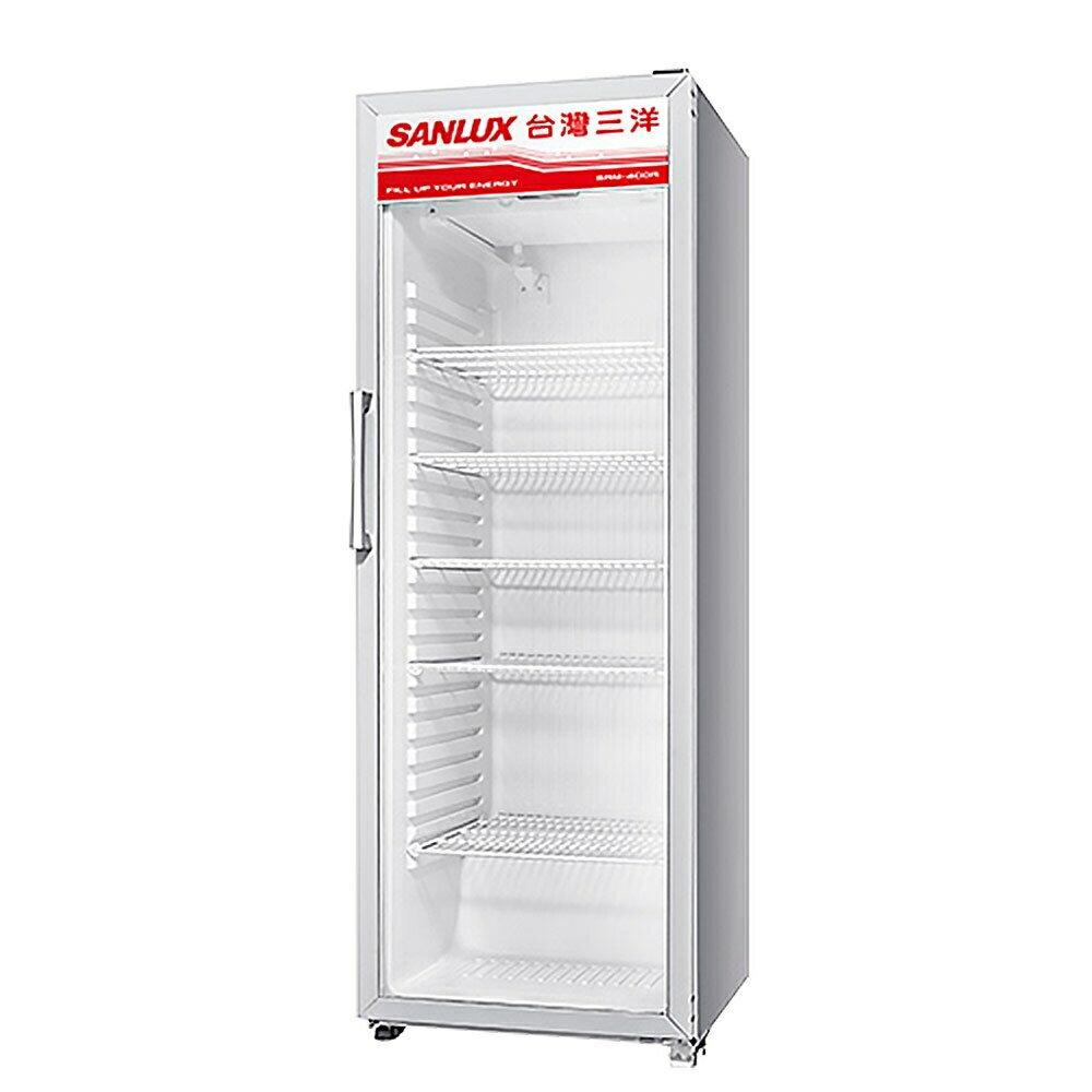 雅光電器商城 【領券折300】台灣三洋 SANLUX 400公升直立式冷藏櫃 SRM-400R