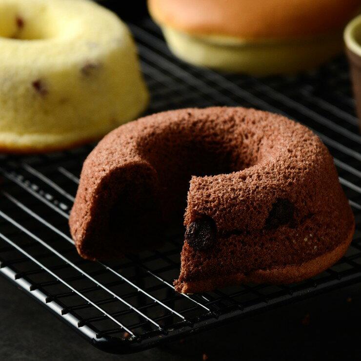 巧克力豆甜甜圈蛋糕6入 高雄伴手禮名店 彌月蛋糕推薦 食尚玩家推薦   入口鬆軟且吃得到巧克力豆 團購美食