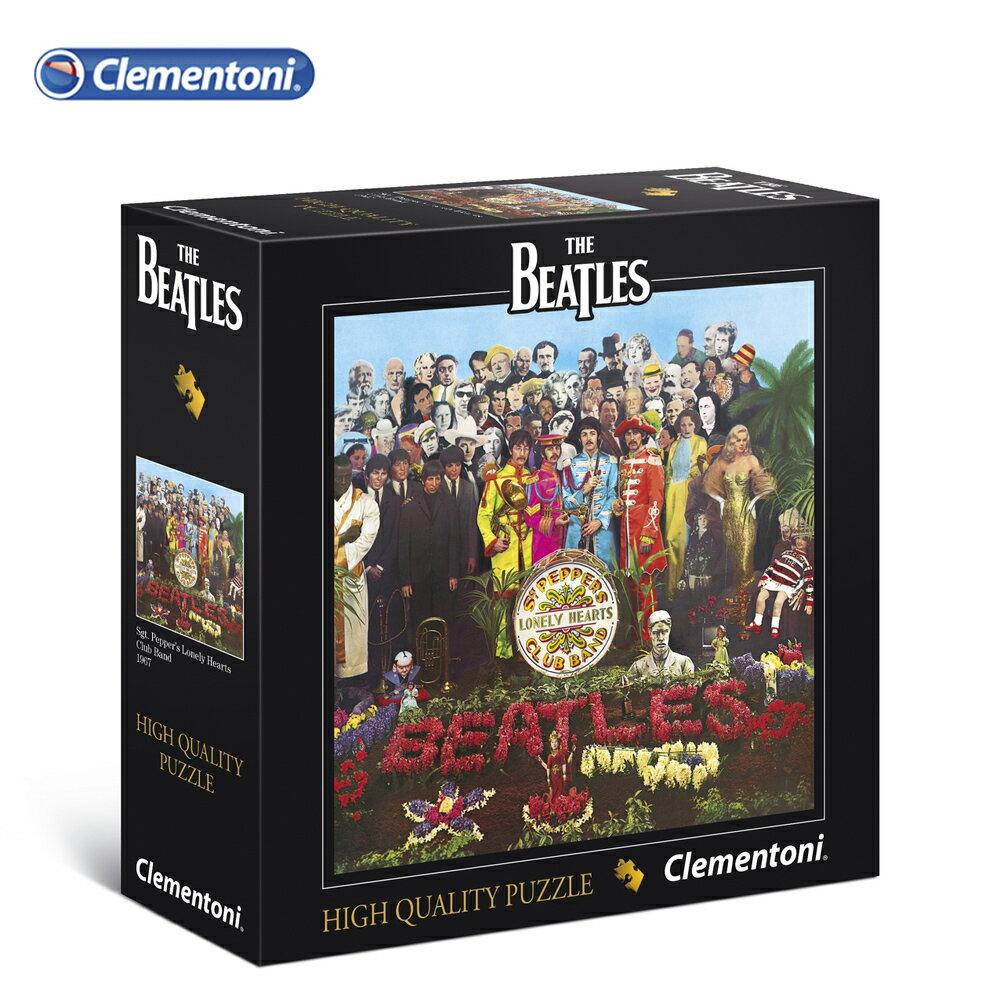 義大利【Clementoni】原裝進口拼圖-披頭四 Sgt. Pepper\
