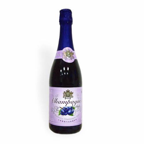 七星藍莓汽泡香檳飲料750ml【愛買】