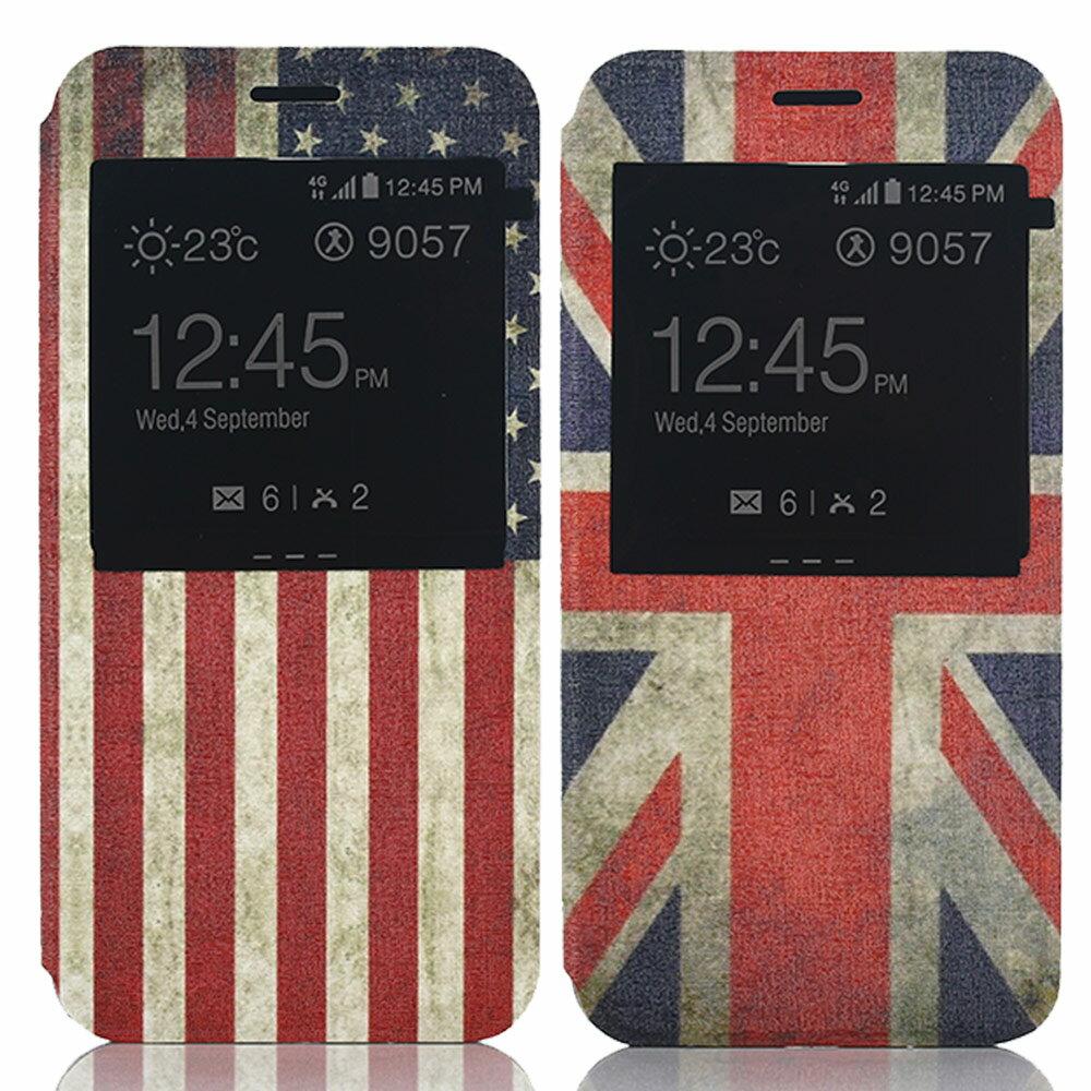Outlet 特賣Samsung A8時尚彩繪手機皮套 側掀支架式皮套 特價出清英國國旗專區 1 $79