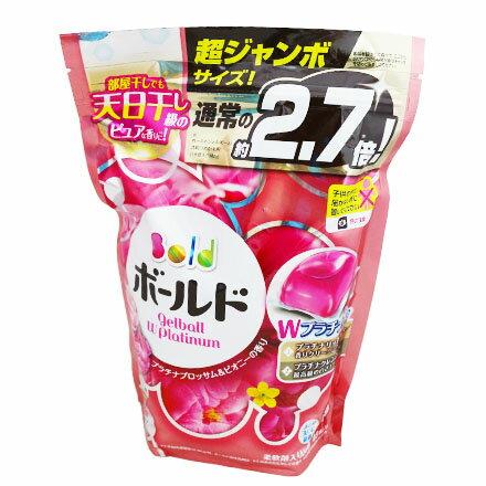 【敵富朗超巿】P&G洗衣膠球補充包-粉色 940g-48入