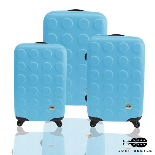 Just Beetle積木系列ABS輕硬殼 三件組28吋24吋20吋 旅行箱 行李箱 5