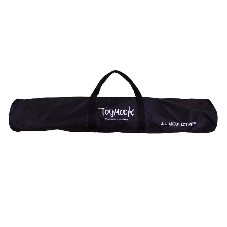 Toymock 折疊收納式吊床-正常版-Black x Black