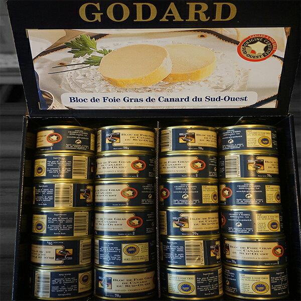 Godard 頂級奶油鴨肝塊 70g 一人限購兩罐, 兩罐會做包做禮盒, 非常適合送禮! 0