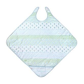 日本【Hoppetta】芙蓉花漾洗澡浴巾圍裙-452915