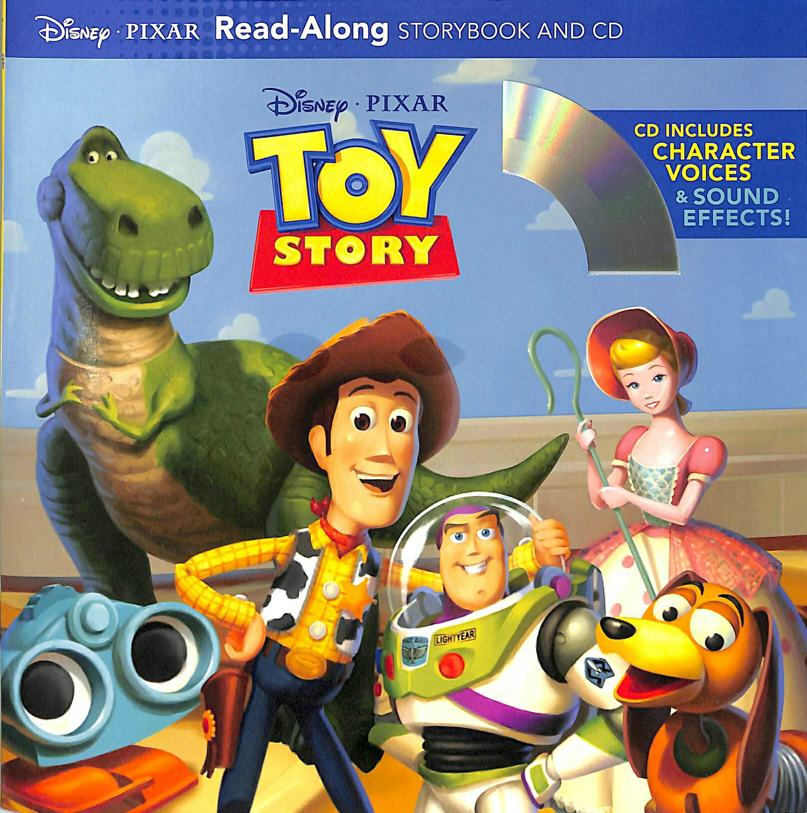 Toy Story Read-Along Storybook And CD 玩具總動員 有聲讀本 (一平裝繪本+一CD)